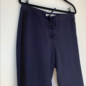 Banana Republic x Olivia Palermo Navy Trouser